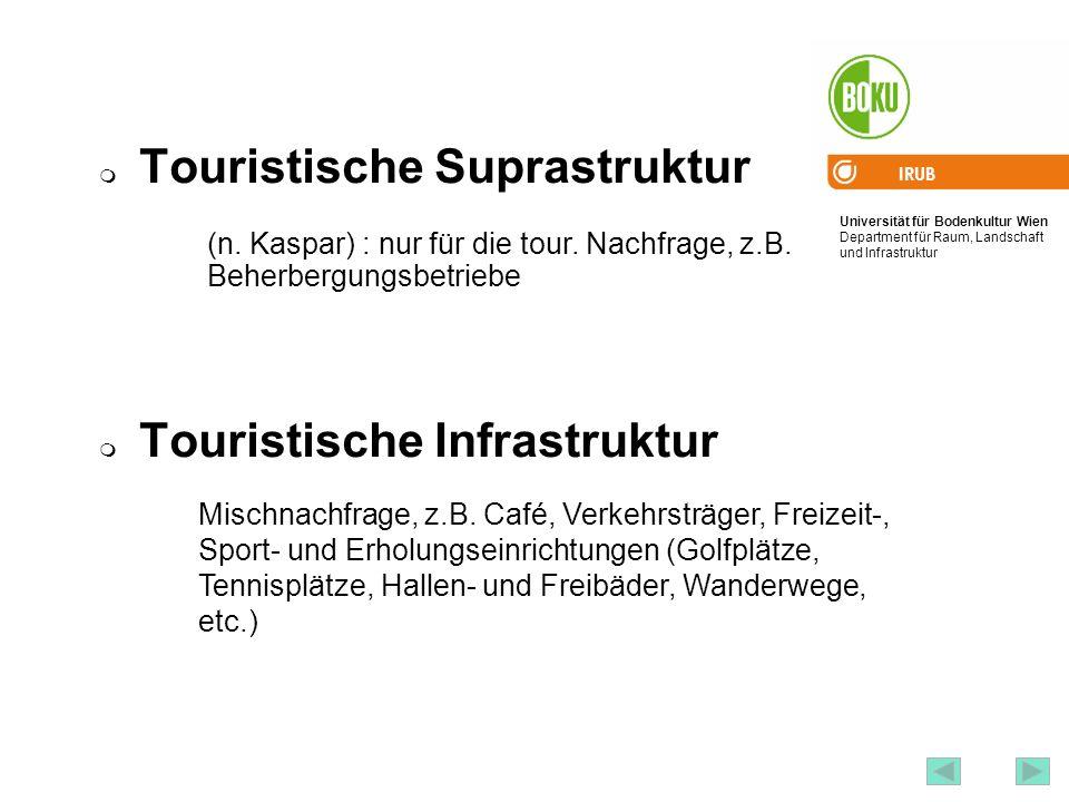 Touristische Suprastruktur