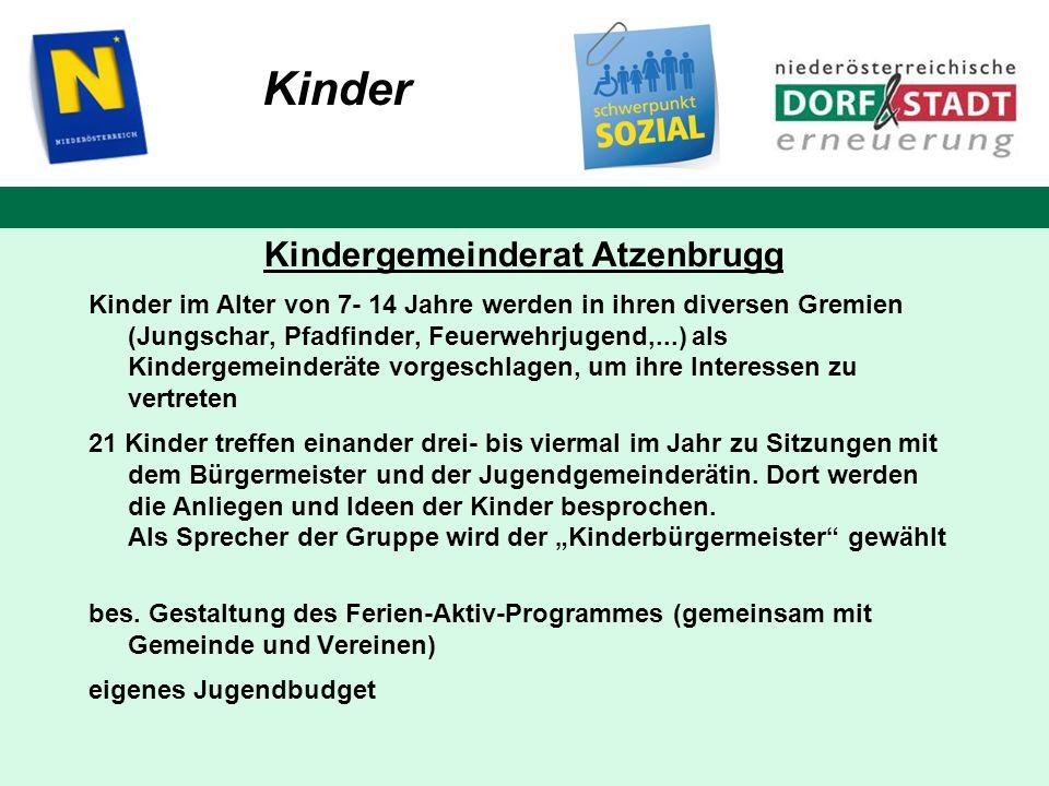 Kindergemeinderat Atzenbrugg