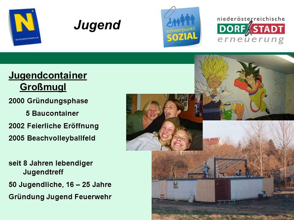 Jugend 5 Baucontainer 2002 Feierliche Eröffnung