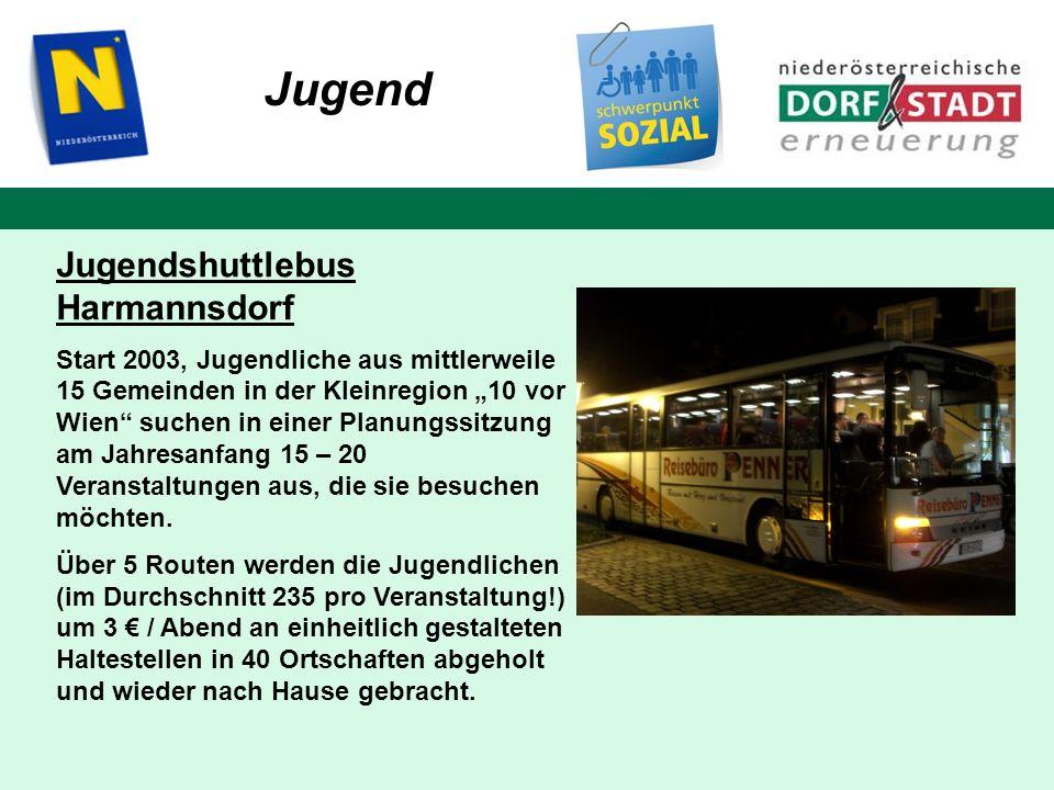Jugend Jugendshuttlebus Harmannsdorf