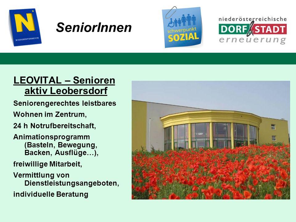 SeniorInnen LEOVITAL – Senioren aktiv Leobersdorf