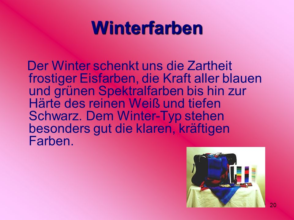 Winterfarben