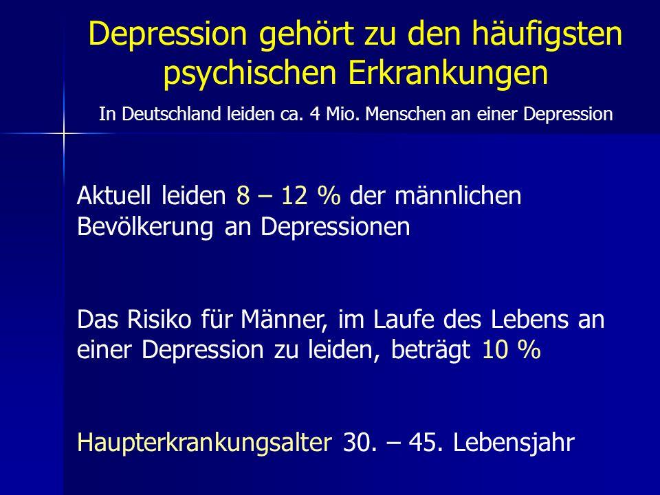 Depression gehört zu den häufigsten psychischen Erkrankungen