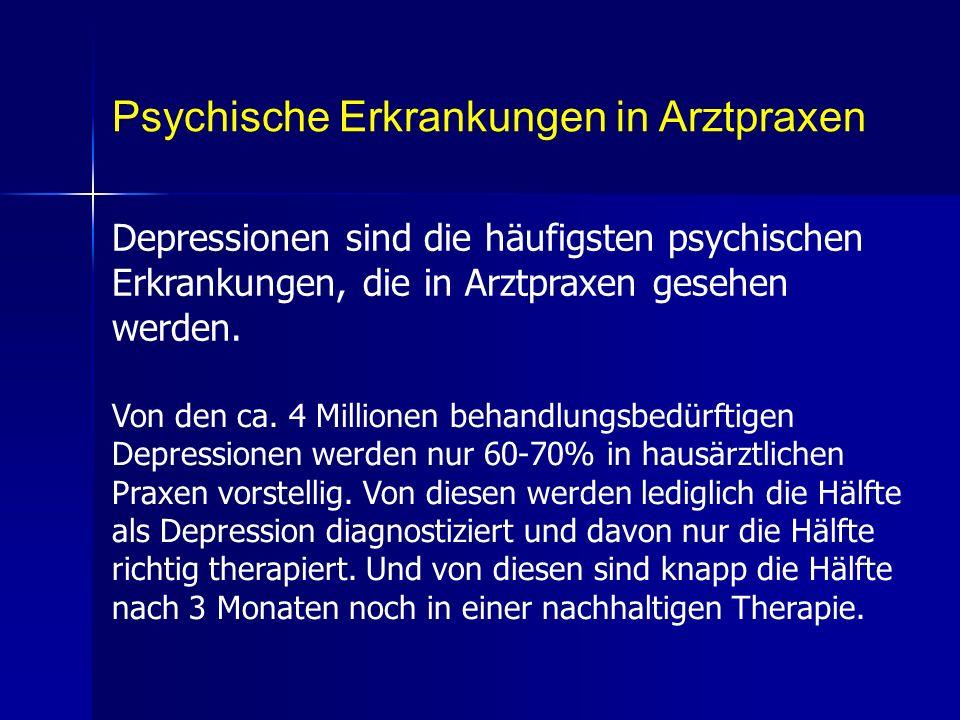 Psychische Erkrankungen in Arztpraxen