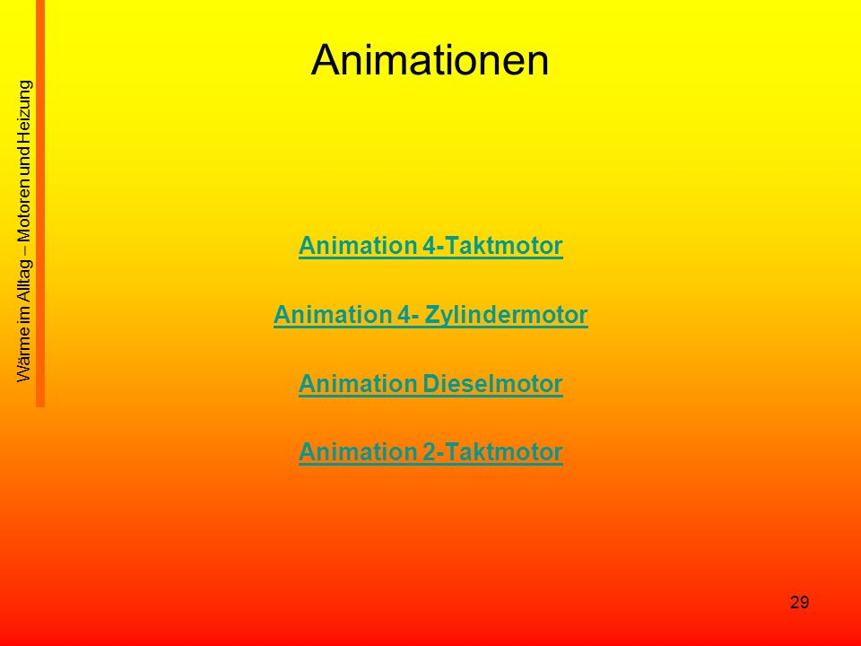 Animation 4- Zylindermotor Animation Dieselmotor