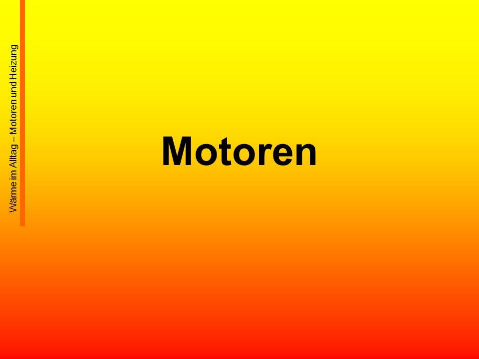 Motoren Wärme im Alltag – Motoren und Heizung