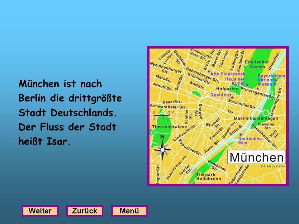 Berlin die drittgrößte Stadt Deutschlands. Der Fluss der Stadt