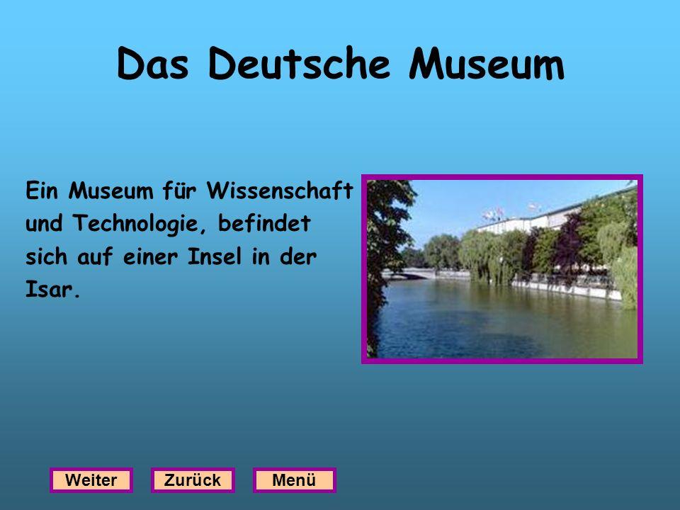 Das Deutsche Museum Ein Museum für Wissenschaft