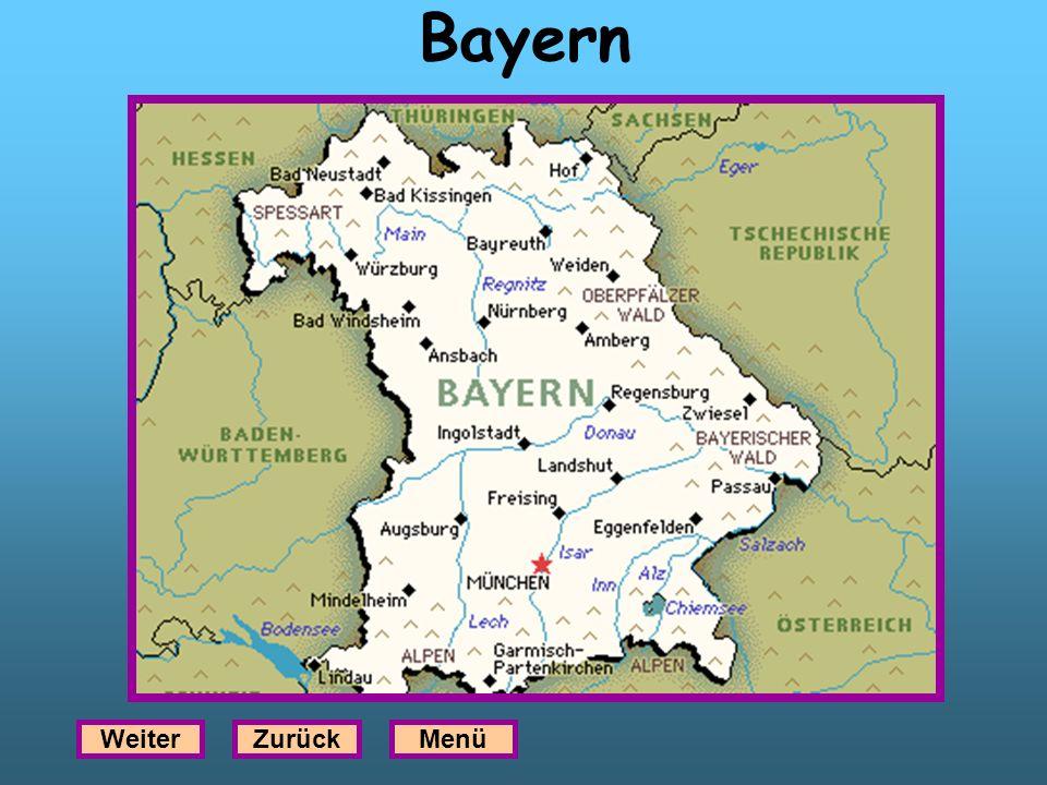 Bayern Weiter Zurück Menü