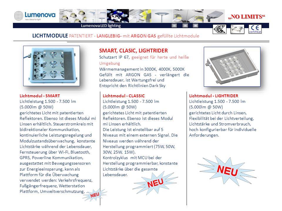 LICHTMODULE PATENTIERT - LANGLEBIG- mit ARGON GAS gefüllte Lichtmodule