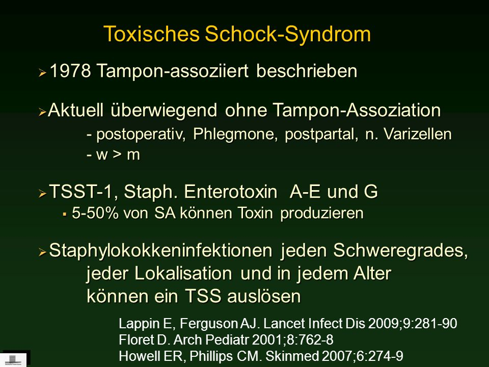 Toxisches Schock-Syndrom