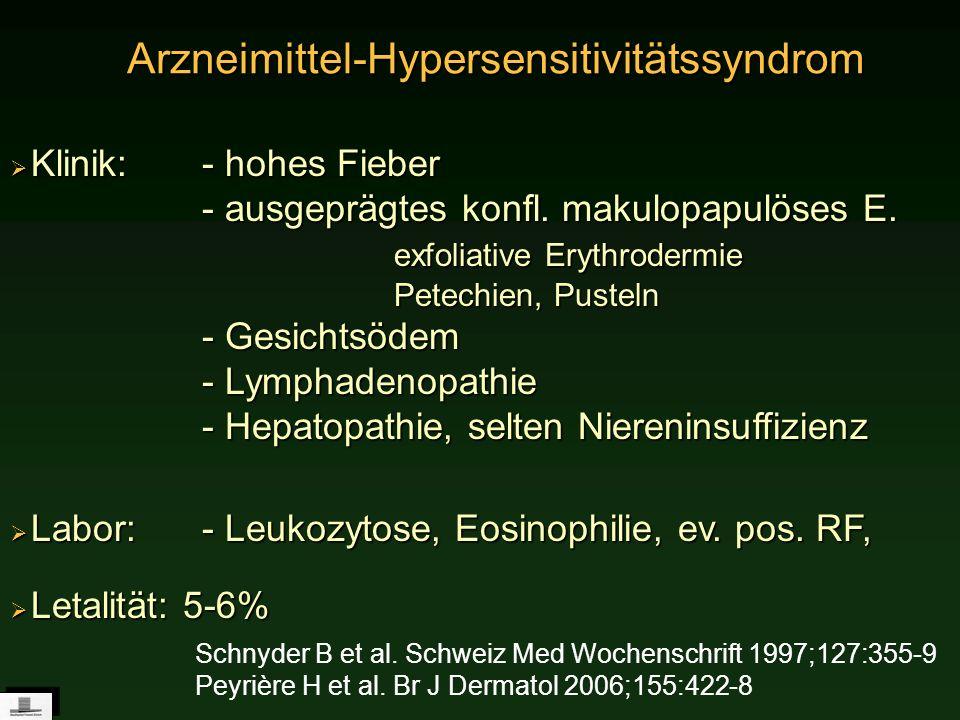 Arzneimittel-Hypersensitivitätssyndrom