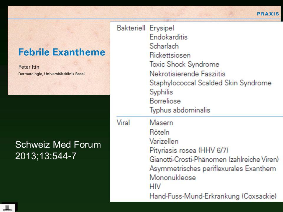 Schweiz Med Forum 2013;13:544-7