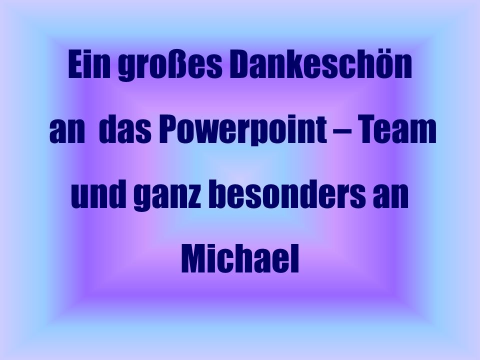 an das Powerpoint – Team