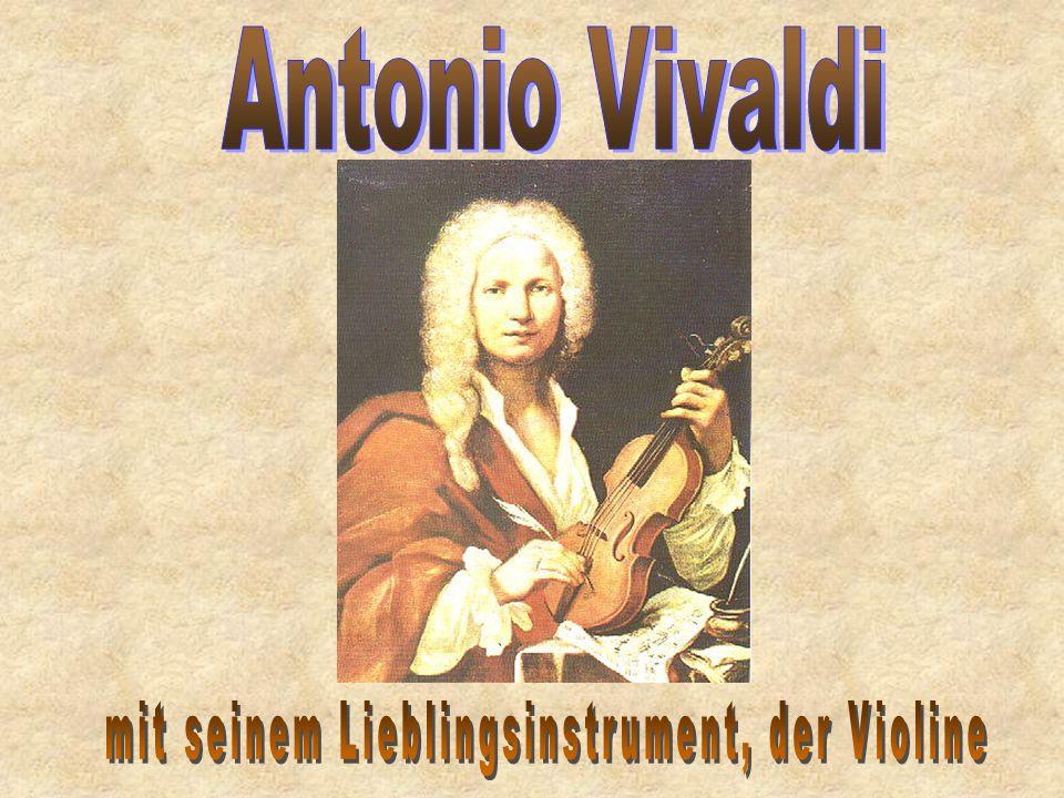 mit seinem Lieblingsinstrument, der Violine