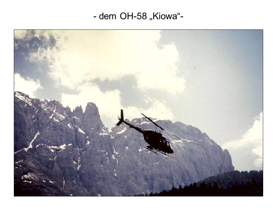 "- dem OH-58 ""Kiowa -"