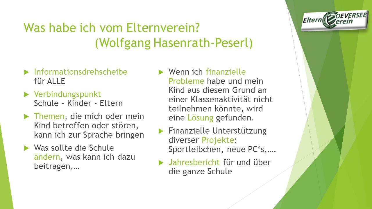 Was habe ich vom Elternverein (Wolfgang Hasenrath-Peserl)