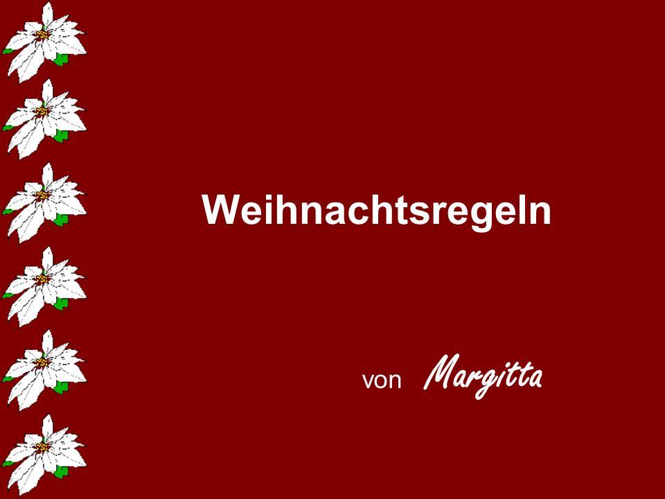 Weihnachtsregeln von Margitta 211142584/10 popcorn-fun.de