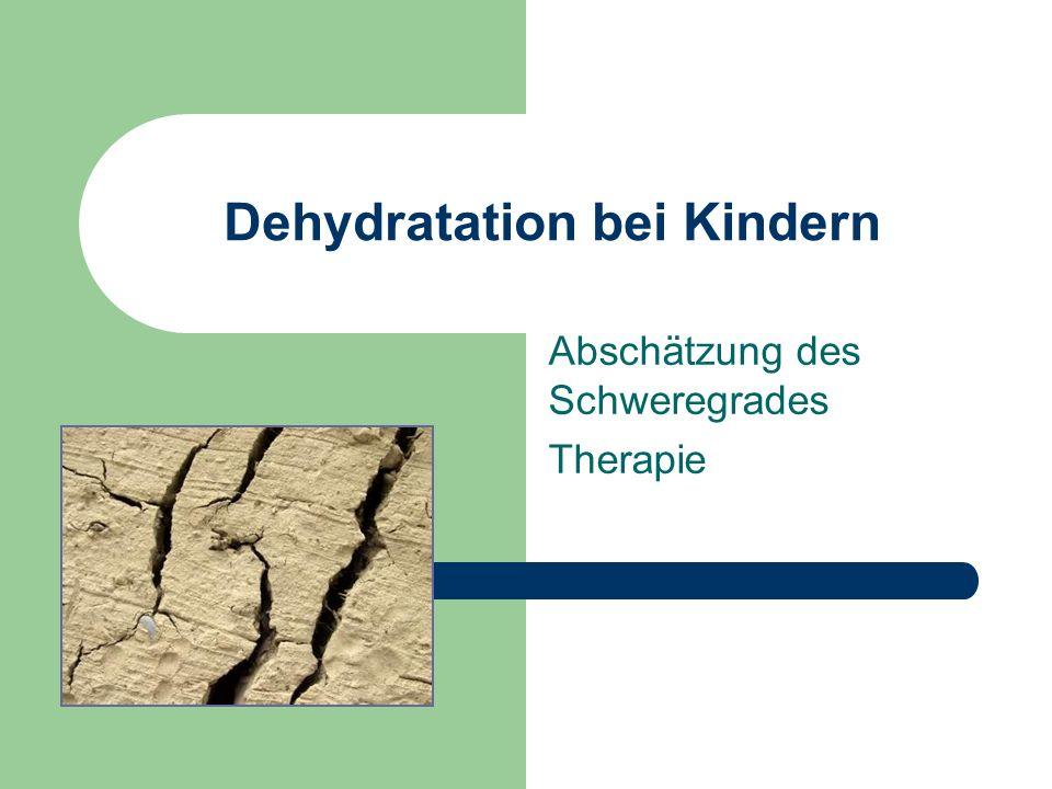 Dehydratation bei Kindern