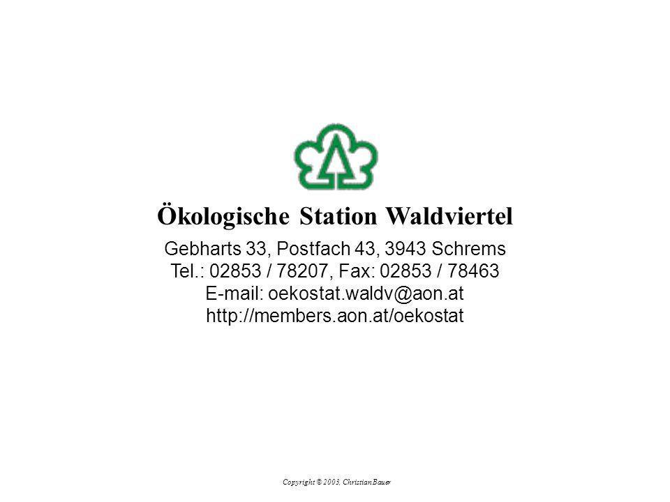 Ökologische Station Waldviertel