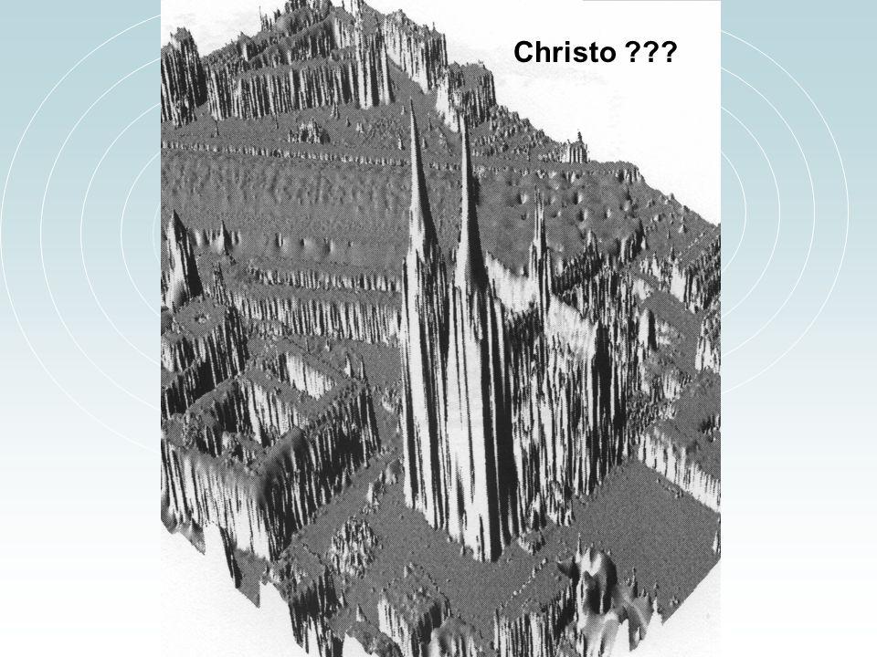 Christo Rastergraphische Perspektivansicht des Kölner Doms