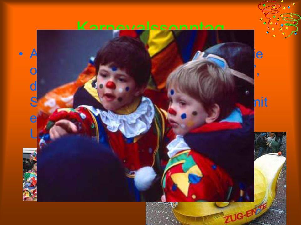 Karnevalssonntag