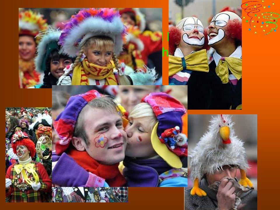 Alte und Junge, Arme und Reiche, im Karneval sind alle Menschen gleich.