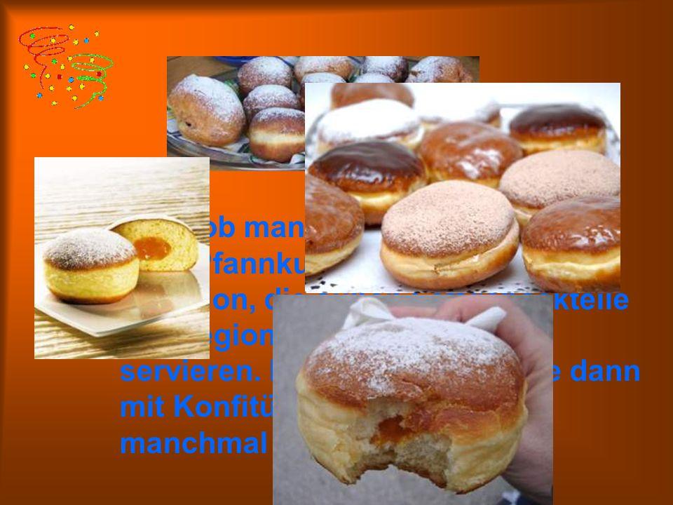 Egal, ob man sie Berliner, Krapfen oder Pfannkuchen nennt – es ist Tradition, die süßen Fettgebäckteile überregional zu Karneval zu servieren.
