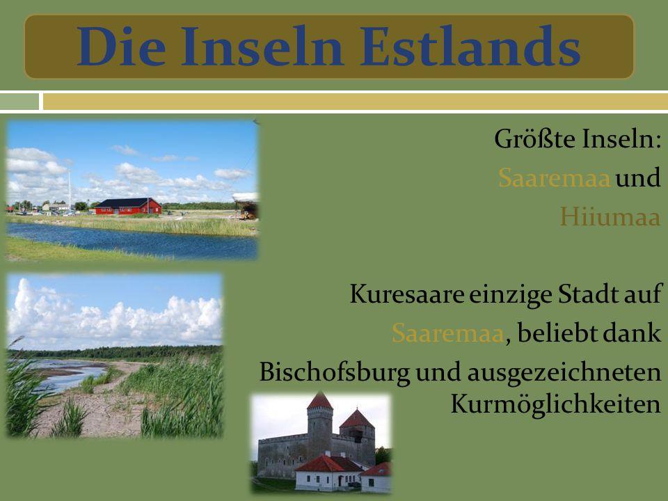 Die Inseln Estlands