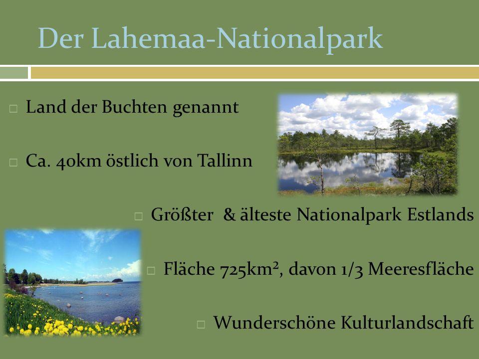 Der Lahemaa-Nationalpark
