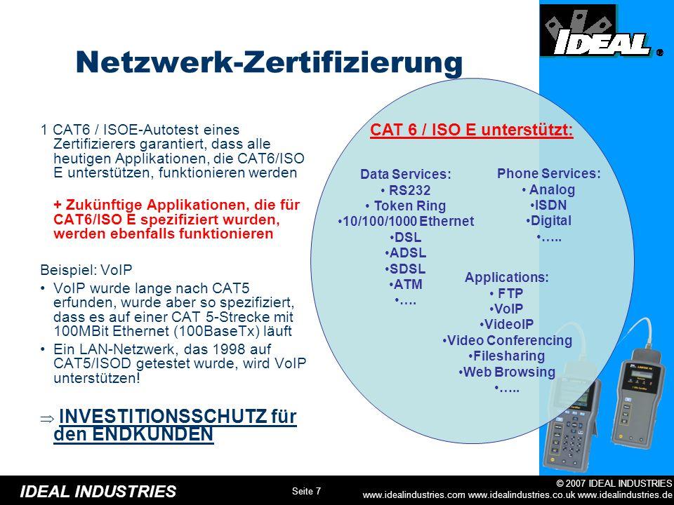 Netzwerk-Zertifizierung