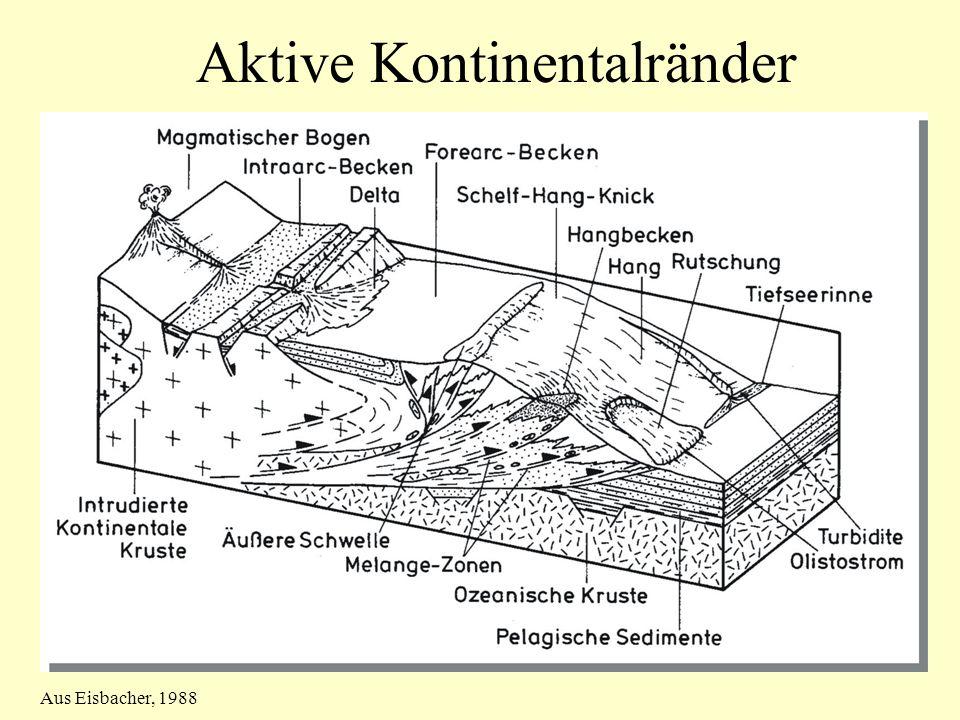 Aktive Kontinentalränder