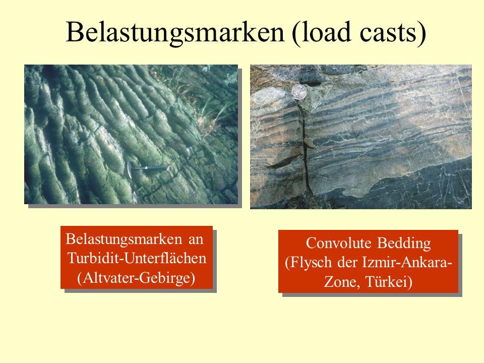 Belastungsmarken (load casts)