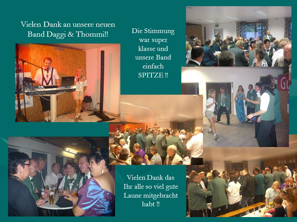 Vielen Dank an unsere neuen Band Daggi & Thommi!!
