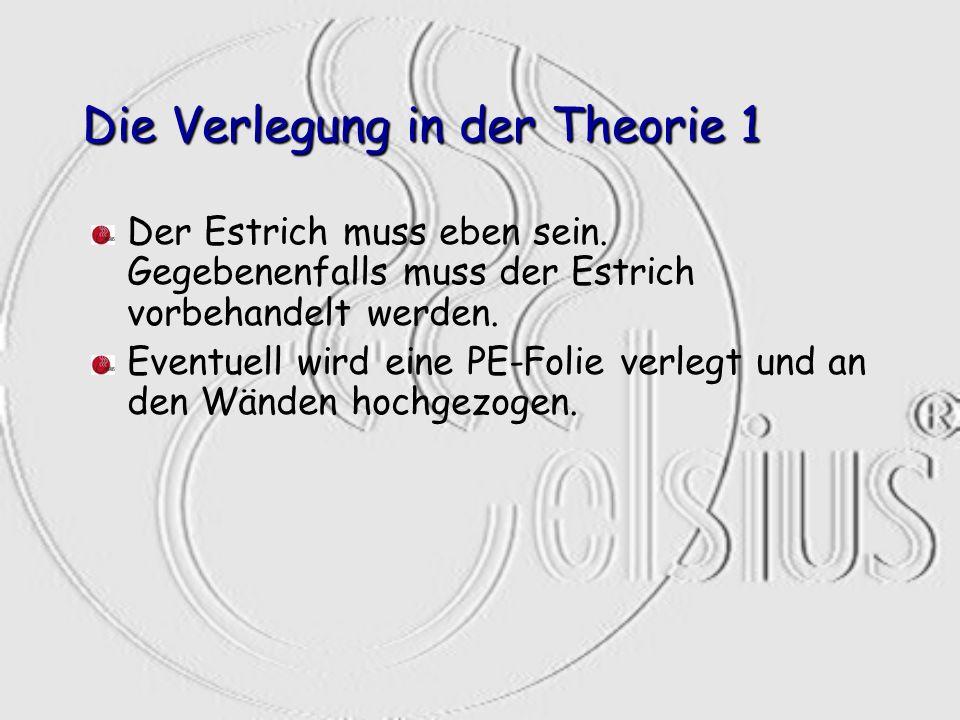 Die Verlegung in der Theorie 1