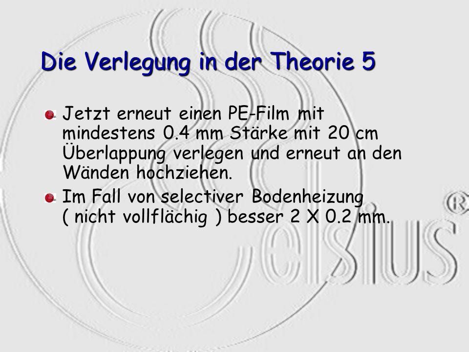 Die Verlegung in der Theorie 5