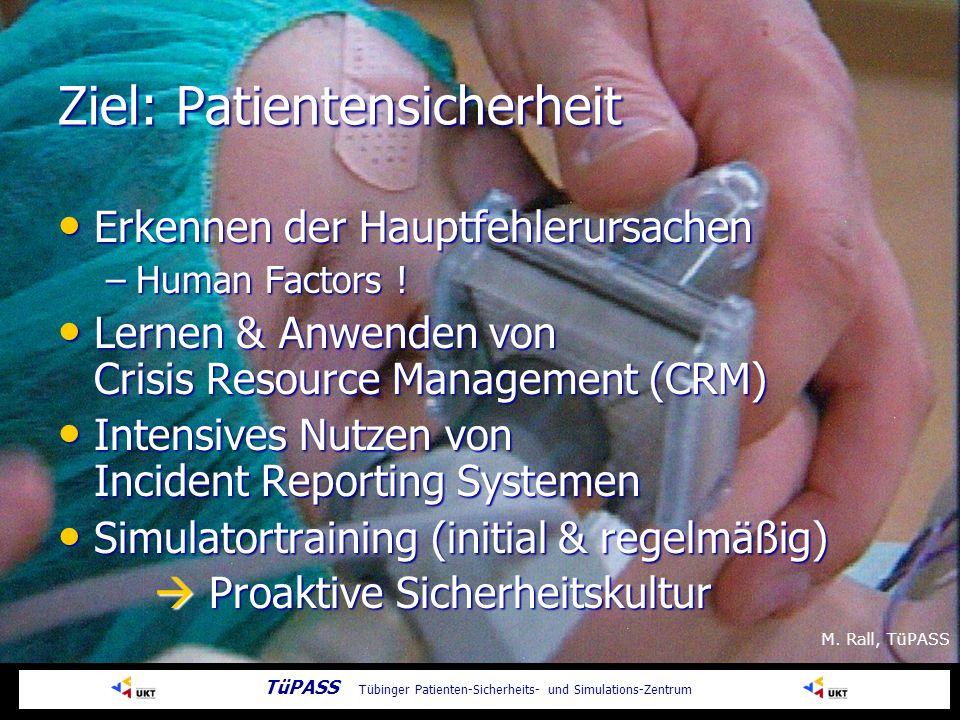 Ziel: Patientensicherheit