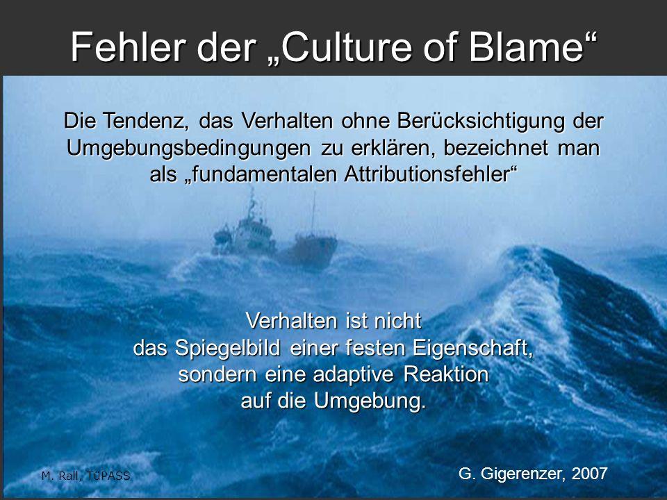"""Fehler der """"Culture of Blame"""