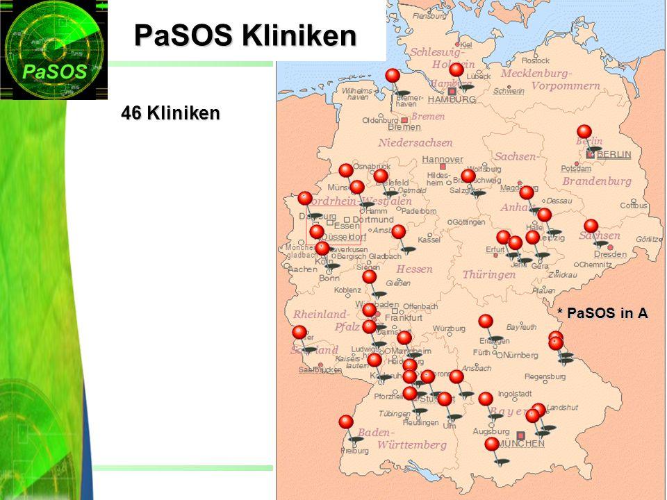 PaSOS Kliniken 46 Kliniken * PaSOS in A