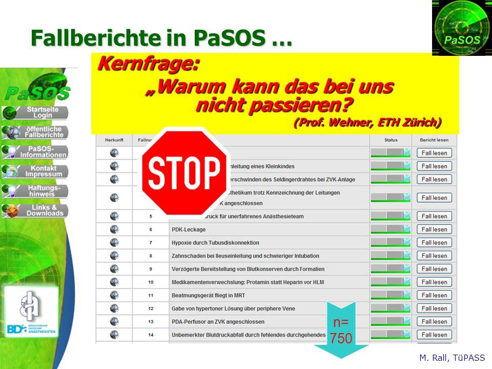 Fallberichte in PaSOS …
