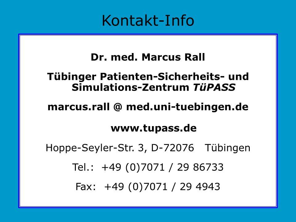 Tübinger Patienten-Sicherheits- und Simulations-Zentrum TüPASS