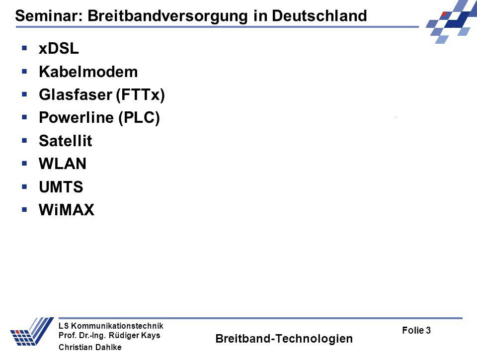 Breitband-Technologien