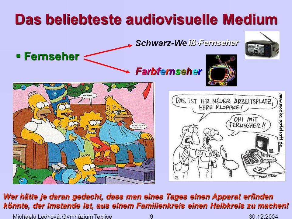 Das beliebteste audiovisuelle Medium