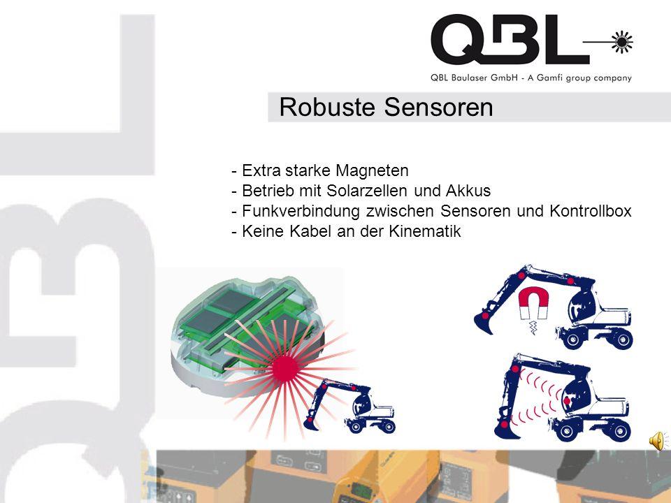 Robuste Sensoren - Extra starke Magneten