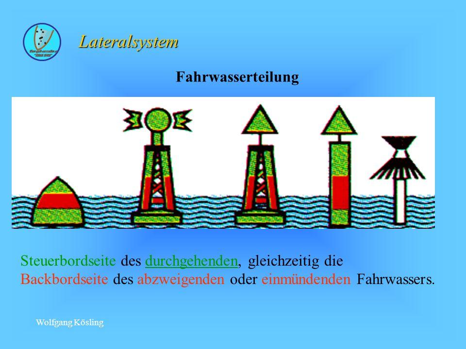 Lateralsystem Fahrwasserteilung