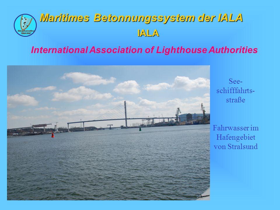 Maritimes Betonnungssystem der IALA