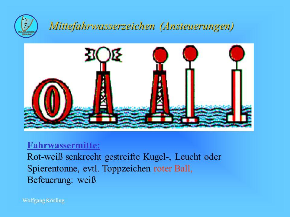 Mittefahrwasserzeichen (Ansteuerungen)