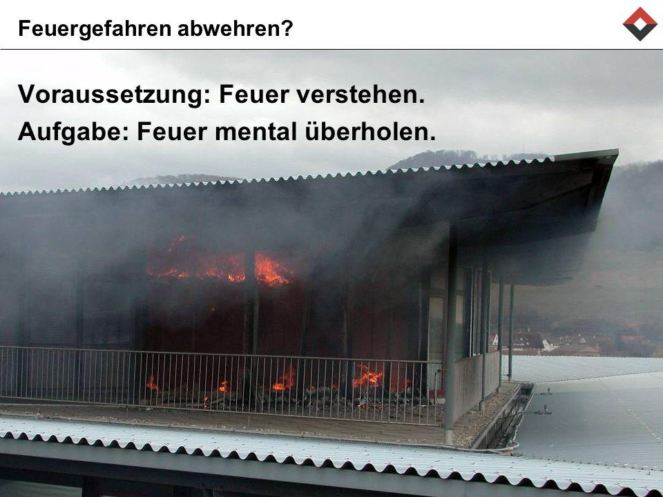 Feuergefahren abwehren