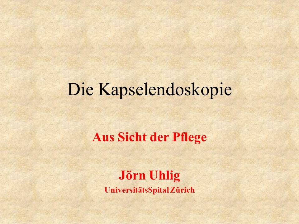 Aus Sicht der Pflege Jörn Uhlig UniversitätsSpital Zürich