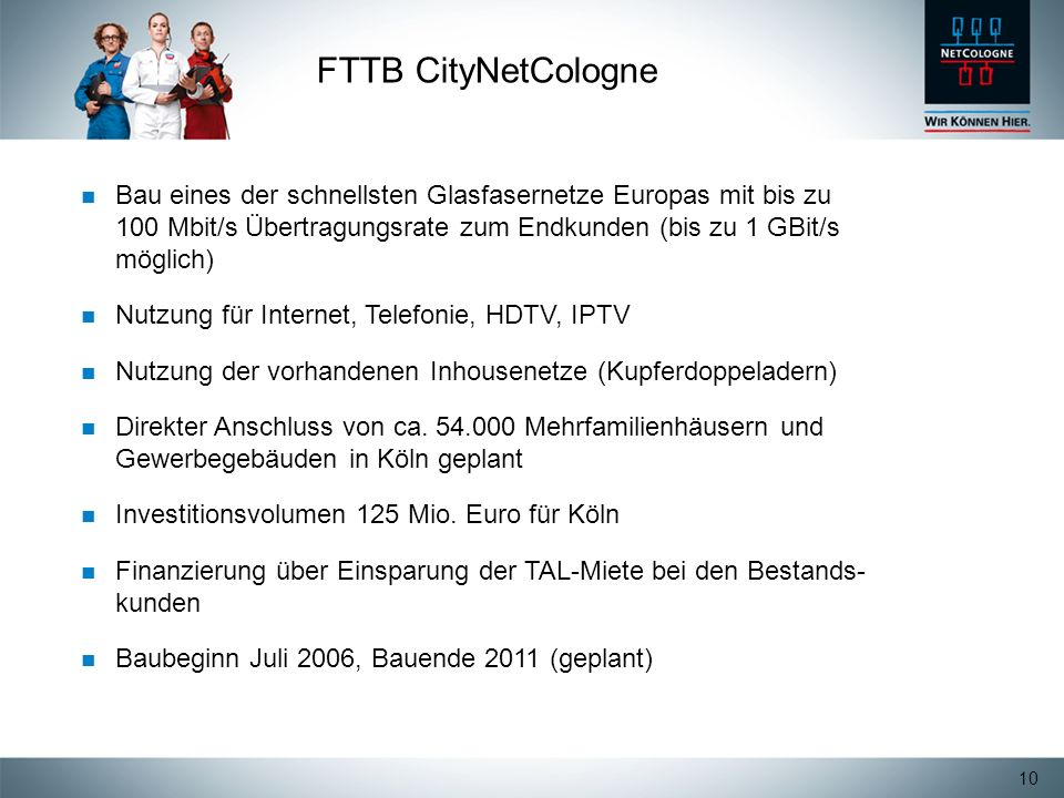FTTB CityNetCologne